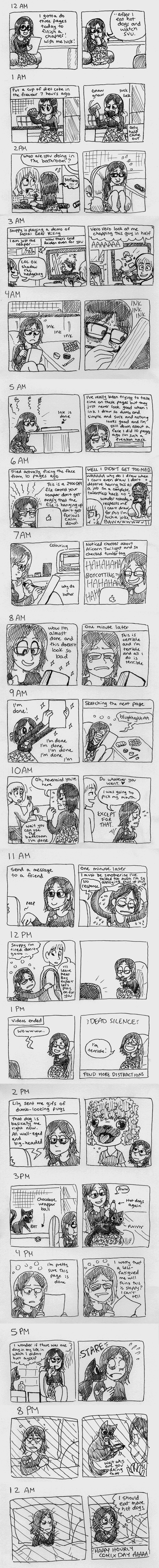 Hourly comics for 2013