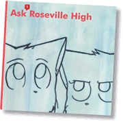 the Ask Roseville High book cover